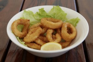 Our Mouth Watering Calamari!